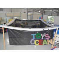 Wholesale Square Inflatable Water Toys Inflatable Swimming Pool With Net 0.90mm PVC Tarpaulin from china suppliers