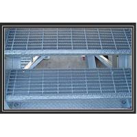 Wholesale Welded electric galvanized aluminum or AS3679 stainless steel bar grate for stair treads from china suppliers