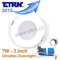Wholesale ETRN Brand 3 inch 7W Dimmable LED Downlights Ceiling Lights Recessed lights embeded lights from china suppliers