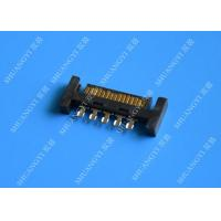 Wholesale PCB Slimline SATA Connector Voltage 125V AC Small Footprint Design from china suppliers