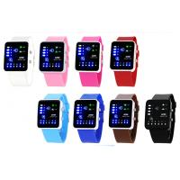 Wholesale Silicone LED Digital Wrist Watch from china suppliers
