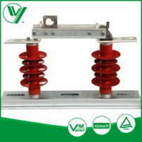 Buy cheap Polymer Composite Post Low Voltage Isolator Disconnect Switch HGW9-10 from wholesalers