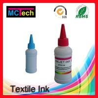 Wholesale 4 colors 500ml For Epson Direct to Garment Textile Printing ink in digital printing from china suppliers