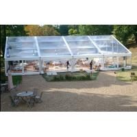Wholesale 500 People Big Waterproof Transparent Polygon Event Tent With Clear Span Structure from china suppliers