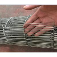 Wholesale Flat Flext Wire Mesh Conveyor Belting With Z Side , Rod Network Ladder Belt from china suppliers