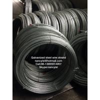 Wholesale ACSR Conductor Galvanized Steel Wire Cable Strand With High Tensile Strength from china suppliers
