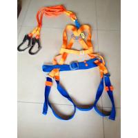 Wholesale Full Body Fall Protection Safety Belt Rope With Two Big Hooks And Energy Bag from china suppliers