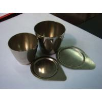 Wholesale Pure Nickel Crucible For Speical Size 200ml, 500ml Or As Per Drawing from china suppliers