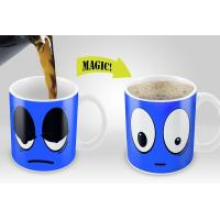 Buy cheap Smile Magic Mug with Blue /Yellow /Red /White colors options Eco Friendly Travel Mugs from wholesalers