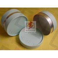 Wholesale Small Composite Paper Cans Packaging UV Coating with Ribbon from china suppliers