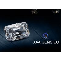 Wholesale Radiant Cut Colorless Diamond Moissanite For Earrings 9mm x 11mm from china suppliers