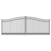 Wholesale Aluminum gate and fence Aluminum driveway gate door metal gate from china suppliers