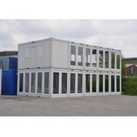 Wholesale Prefab Modular Housing Two Storey Sliding Glass Wall Flat Pack Container House UK from china suppliers