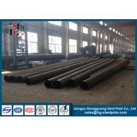 Wholesale 110KV High Voltage Hot Dip Galvanized Electric Steel Pole for Power Transmission from china suppliers