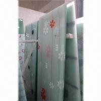 Wholesale Door Glass for Sliding Door, Measures (L x W) 2,200 x 1,650/2,440 x 1,830mm, w/ 4/5/6/8mm Thickness  from china suppliers