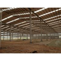 Quality Customized H Beam Prefabricated Building Steel Frame For Industry workshop for sale