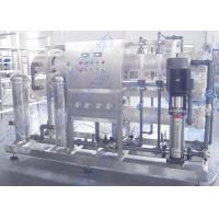 Drinking Water Production Line SUS304 Water Treatment System DOW RO Membrane