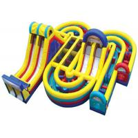 Wholesale Commercial Inflatable Obstacle Course , Giant Inflatable Assault Course For Adult from china suppliers