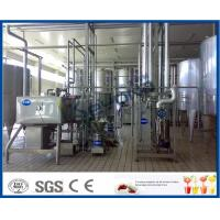 Wholesale Fresh Milk / Pouch Milk / Dairy Milk Processing Plant , 1000 - 6000LPH Milk Powder Plant from china suppliers