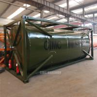 Wholesale 24000 liters cooking oil tank container from china suppliers