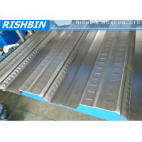 Wholesale Galvanized Steel Sheet Roof Deck Roll Forming Machine with 688 mm 3 phase / 50 HZ from china suppliers
