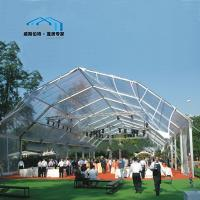 Wholesale Exterior Polygon Tent PVC Coated Fabric Big Festival Celebration Use from china suppliers