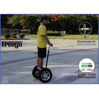 Buy cheap 800w Stand Up  Segway Self Balancing Scooter With  Gyroscope G Sensor , Brush DC Motor from wholesalers