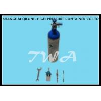 Wholesale Hospital 1.2L Aluminum Gas Cylinder Bottles 355mm Length 1.43kg from china suppliers