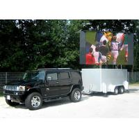Wholesale Mobile Trailer Mounted LED Screens P25 , Opto + Silan Chips V60/H120 from china suppliers