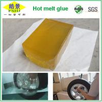 Wholesale Yellow Transparent Hot Melt Pressure Sensitive Adhesive For Transport Industry from china suppliers
