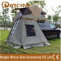 Wholesale 4x4 manufacturer waterproof car roof top tent / 260G ripstop canvas  auto roof tent from china suppliers