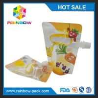 Wholesale Recycled PET / NY / PE Stand Up Bags Gravure Printing For Liquid from china suppliers