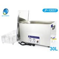 Wholesale LCD Display Hospital Surgical Ultrasonic Cleaner , 30L Ultrasonic Cleaning Machine JP - 100ST from china suppliers