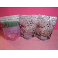 Wholesale Plastic Food Doypack Bags With Small Clear Window , Standing Pouch With Zipper from china suppliers