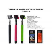 Wholesale Selfie rod with bluetooth wireless remote , Wireless Selfie Monopod For Phone & Camera from china suppliers