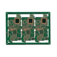 Wholesale Printed circuit board 8 Layer PCB  Prototype with Immersion Gold  2mm Thickness from china suppliers