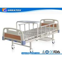 Wholesale GT-BM5205 Manual 2 Crank Hospital Bed Simple Flat adjustable medical bed from china suppliers
