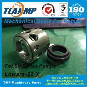 China Lowara-22-X Mechanical Seals for Lowara SV Series pumps- Lowara Mechanical Seals (Shaft size 22mm) on sale