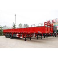 Wholesale 60 ton cargo ship vehicle equipment side wall semi trailer - CIMC from china suppliers