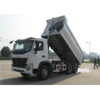 Wholesale HOWO A7 Dump Truck Trailer U Shaped 18M3 10 Wheeler 20M3 30 Tons Tipper Truck Trailer from china suppliers