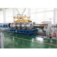 China Single Screw PVC Pipe Production Line SBG1000 Double Wall PVC Pipe Molding Machine on sale