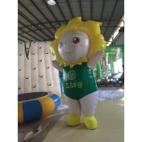 Wholesale Walking 2 M Inflatable Cartoon Characters Mobile Inflatable Model 420D Oxford from china suppliers