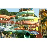 Wholesale FPR Water Park Rides With 10.8m Platform Height OEM Giant Water Park Attraction from china suppliers