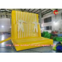 Wholesale Leisure Games Inflatable Climbing Wall / Inflatable Magic Sticky Wall For Children from china suppliers