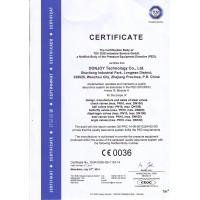 DONJOY TECHNOLOGY CO., LTD Certifications