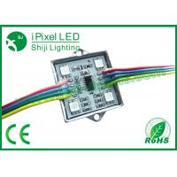Wholesale Digital Full Color 4 LED RGB LED Pixel Strip With SD Controller WS2801 from china suppliers