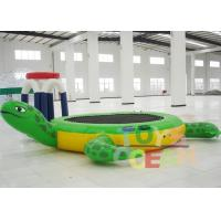 Wholesale Inflatable Tortoise Water Trampoline For Water Entertainment from china suppliers