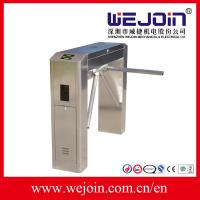 Quality Stainless Steel Automatic Tripod Turnstile Barrier Gate For Bus Station for sale