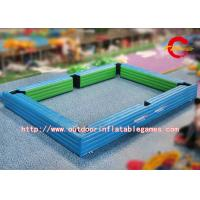 Wholesale PVC Amusement Park Inflatable Outdoor Games Billiard Field For Snookball Game 7 * 5m from china suppliers