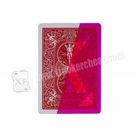 Wholesale Professional Magic Props USA   Paper  Bicycle Standard Marked Playing Cards from china suppliers